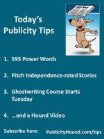 Publicity Tips–595 Power Words