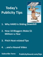 Publicity Tips–Why HARO is Sliding Downhill