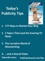 Publicity Tips–177 Ways to Market Your Blog