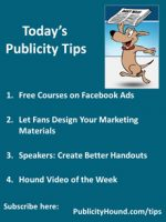 Publicity Tips–Free Courses on Facebook Ads