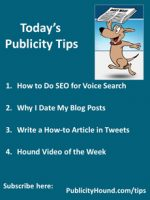 Publicity Tips–How to Do SEO for Voice Search
