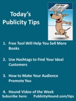 Publicity Tips–Free Tool Will Help You Sell More Books
