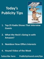 Publicity Tips–Top 25 Radio Shows That Interview Guests