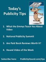 Publicity Tips–What the Emmys Teach You About Video
