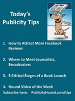 Publicity Tips–How to Attract More Facebook Reviews