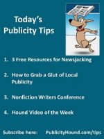 Publicity Tips–3 Free Resources for Newsjacking
