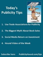 Publicity Tips–Use Trade Associations for Publicity