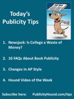 Publicity Hound Tips of the Week