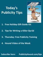 The Publicity Hound's Tips of the Week