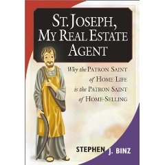 The book St. Joseph, My Real Estate Agent