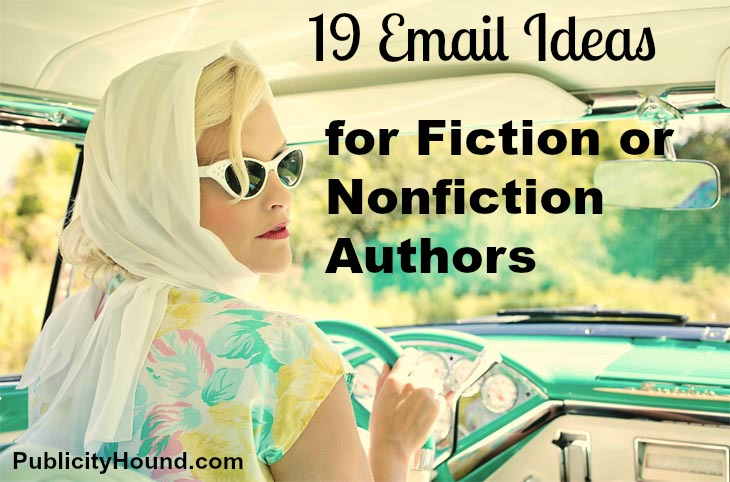 Car Retro--19 ideas for fiction authors for email