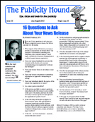 The Publicity Hound print newsletter