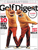 Cover of the June 2010 issue of Golf Digest