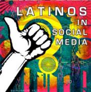 latinos in social media logo