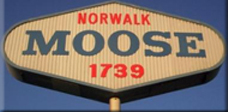 Sign outside Norwalk, CA, Moose Lodge 1739