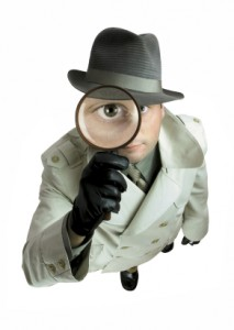 detective trying to find influential people