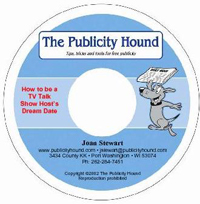 cd label for how to be a tv talk show host's dream date