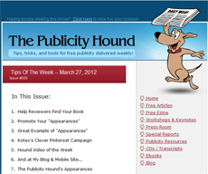 The Publicity Hound's Tips of the Week ezine