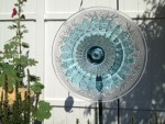 How to make inexpensive flower plate garden art