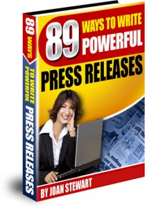 89 Ways to Write Powerful Press Releases