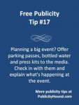 7 tips for the care and feeding of media at your event