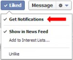 Increase your Facebook Page reach with 'Get Notifications'