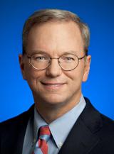 Eric Schmidt, former google CEO