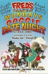 Flyer for Fred's Monday Doggie Date Night