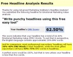 Write punchy headlines using this free, easy tool