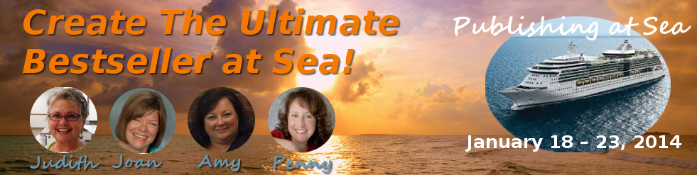 Create the Ultimate Bestseller at Sea logo