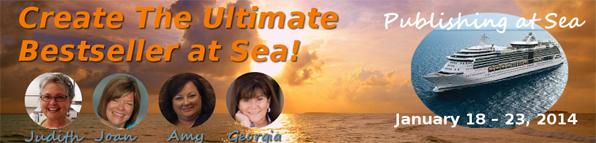Publishing at Sea cruise logo