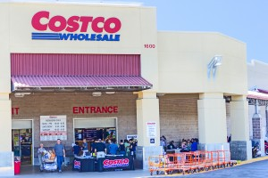Costco store where author has a book signing