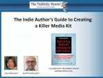 Indie Author Media Kit Webinar Replay is ready—Register to listen, for free