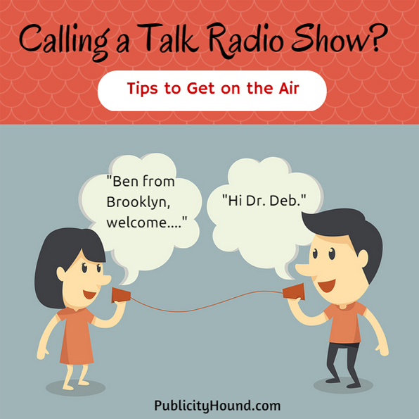 Calling a Talk Radio Show--Tips to Get on the Air