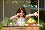 177 Ways to Market Your Blog, from 59 Experts