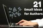 21 email Ideas for authors