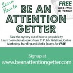 Need publicity training for free? Join me May 11