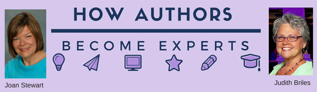 How Authors Become Experts with Judith Brilies and Joan Stewart