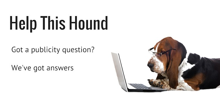 Dog with Glasses Using Laptop to Answer PR Questions