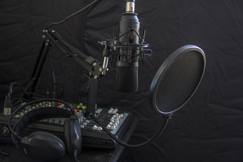 Podcasting equipment2