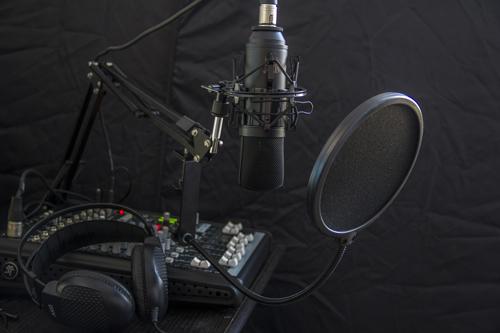 Podcasting equipment2