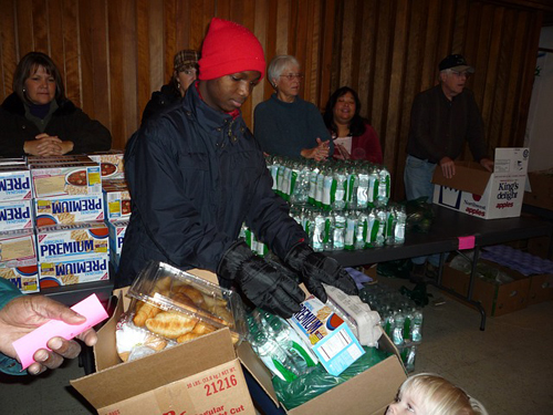 nonprofit food bank