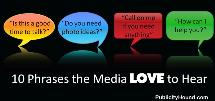 10 Phrases the Media Love to Hear in Media Interviews