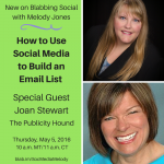 Join Me on a Blab May 5 for Email List-building Tips