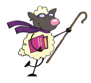 bloopers -- sheep illustration