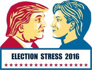 Election Stress 2016 Clinton & Trump
