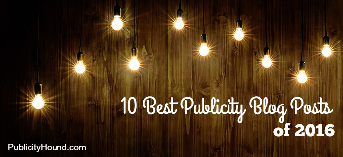 10 best publicity blog posts