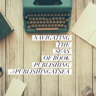 Typewriter with text about PublishingatSea
