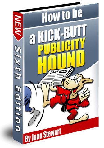 Kick-butt Publicity Hound Cover