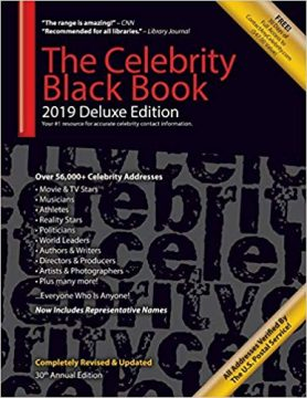 Book of celebrity contacts